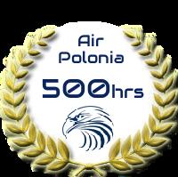 500 h nalotu dla Sioux Air